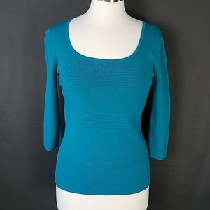 4 for $10- small teal blouse